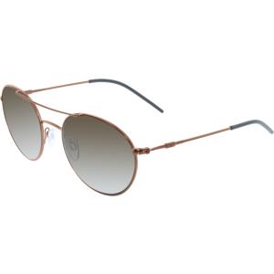Emporio Armani Men's  EA2026-308373-52 Brown Round Sunglasses