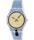 Swatch Women's Originals SUOW118 Blue Silicone Swiss Quartz Watch - Main Image Swatch
