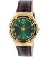 Swatch Men's Irony YGG406 Gold Leather Quartz Watch - Main Image Swatch