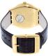 Swatch Men's Irony YGG406 Gold Leather Quartz Watch - Back Image Swatch
