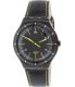 Swatch Men's Irony YWB100 Black Leather Swiss Quartz Watch - Main Image Swatch