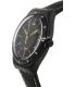 Swatch Men's Irony YWB100 Black Leather Swiss Quartz Watch - Side Image Swatch