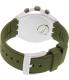 Swatch Men's Irony YYS4009 Green Silicone Swiss Quartz Watch - Back Image Swatch