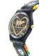Swatch Women's Originals GB285 Black Leather Swiss Quartz Watch - Side Image Swatch
