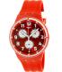 Swatch Women's Originals SUSR403 Red Silicone Swiss Quartz Watch - Main Image Swatch