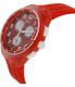 Swatch Women's Originals SUSR403 Red Silicone Swiss Quartz Watch - Side Image Swatch