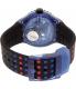 Swatch Women's Originals SUUN100 Multicolor Rubber Quartz Watch - Back Image Swatch