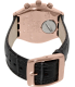 Swatch Men's Irony YCG411 Grey Leather Swiss Quartz Watch - Back Image Swatch