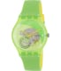 Swatch Men's Originals SUOG110 Green Rubber Quartz Watch - Main Image Swatch