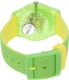 Swatch Men's Originals SUOG110 Green Rubber Quartz Watch - Back Image Swatch