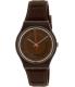 Swatch Women's Originals GC114 Brown Silicone Swiss Quartz Watch - Main Image Swatch