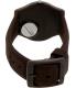 Swatch Women's Originals GC114 Brown Silicone Swiss Quartz Watch - Back Image Swatch