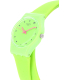 Swatch Women's Originals LG128 Green Silicone Swiss Quartz Watch - Side Image Swatch