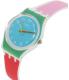 Swatch Women's Originals LW146 White Silicone Swiss Quartz Watch - Side Image Swatch