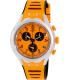 Swatch Men's Irony YYS4010 Orange Silicone Swiss Quartz Watch - Main Image Swatch