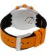 Swatch Men's Irony YYS4010 Orange Silicone Swiss Quartz Watch - Back Image Swatch