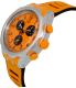 Swatch Men's Irony YYS4010 Orange Silicone Swiss Quartz Watch - Side Image Swatch
