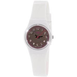 Swatch Women's Originals LM139 White Plastic Swiss Quartz Watch