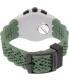 Swatch Men's Originals SUSM402 Green Rubber Quartz Watch - Back Image Swatch