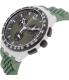 Swatch Men's Originals SUSM402 Green Rubber Quartz Watch - Side Image Swatch