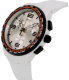 Swatch Men's Originals SUSW405 White Silicone Swiss Quartz Watch - Side Image Swatch