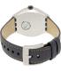 Swatch Men's Irony YES4007 Grey Leather Quartz Watch - Back Image Swatch