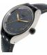 Swatch Men's Irony YES4007 Grey Leather Quartz Watch - Side Image Swatch