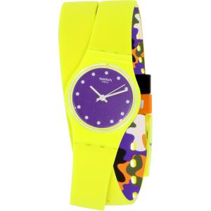 Swatch Women's Originals LJ110 Yellow Silicone Swiss Quartz Watch
