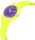 Swatch Women's Originals LJ110 Yellow Silicone Swiss Quartz Watch - Side Image Swatch