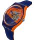 Swatch Men's Originals SUOO102 Blue Silicone Swiss Quartz Watch - Side Image Swatch
