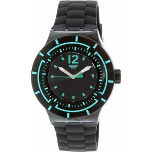 Swatch Women's Originals SUUB403 Black Silicone Swiss Quartz Watch
