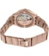 Swatch Women's Irony YAG400G Rose Gold Stainless-Steel Automatic Watch - Back Image Swatch
