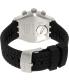 Swatch Men's Irony YVS420 Black Rubber Quartz Watch - Back Image Swatch