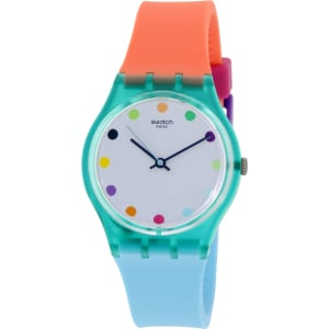 Swatch Women's Originals GG219 Multi Silicone Swiss Quartz Watch