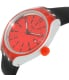 Swatch Men's Irony YES4008 Black Rubber Quartz Watch - Side Image Swatch