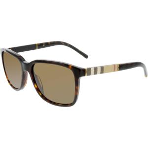 Burberry Women's  BE4181-300273-58 Tortoiseshell Square Sunglasses