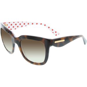 Dolce & Gabbana Women's Gradient  DG4197-287213-53 Tortoiseshell Square Sunglasses