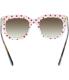 Dolce & Gabbana Women's Gradient  DG4197-287213-53 Tortoiseshell Square Sunglasses - Back Image Swatch