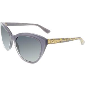 Dolce & Gabbana Women's Gradient  DG4250-2921T3-56 Lavender Butterfly Sunglasses