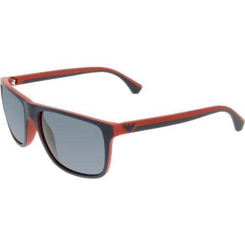 Emporio Armani Men's EA4033-532587-56 Blue Square Sunglasses