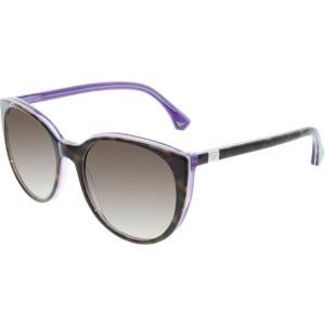 Emporio Armani Women's Gradient  EA4043-535313-55 Tortoiseshell Round Sunglasses
