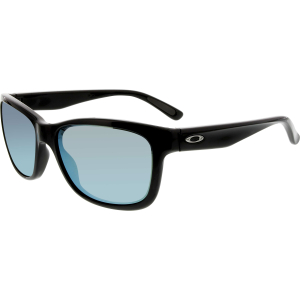 Oakley Women's Mirrored Holbrook OO9179-28 Black Rectangle Sunglasses