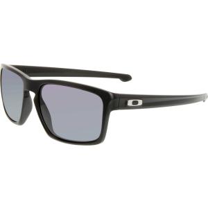 Oakley Men's Sliver OO9262-01 Black Rectangle Sunglasses