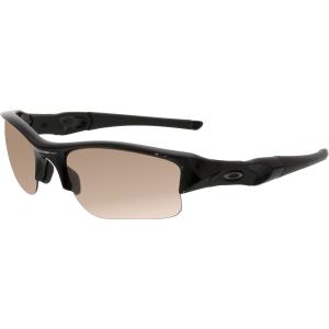 Oakley Men's Flak Jacket OO9009-05 Black Wrap Sunglasses