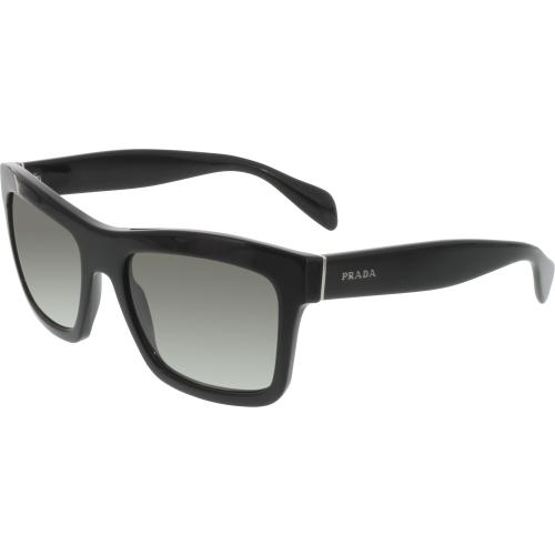 2a8709c55ddad ... (Gray Gradient EAN 8053672271485 product image for Prada Women s  PR25QS-1AB0A7-56 Black Square Sunglasses