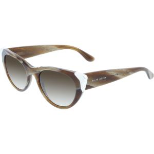 Ralph Lauren Women's Gradient  RL8112-544413-51 Brown Cat Eye Sunglasses