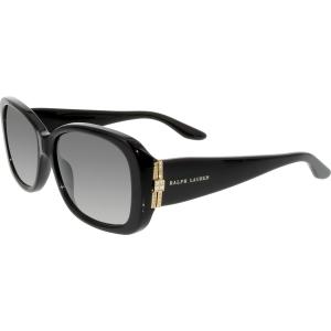 Ralph Lauren Women's Gradient  RL8127B-50018G-55 Black Butterfly Sunglasses
