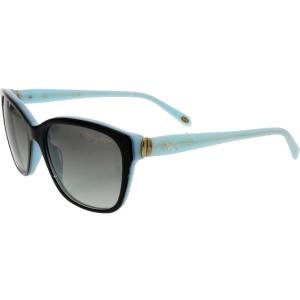 Tiffany & Co Women's Gradient  TF4083-81633C-56 Black Square Sunglasses