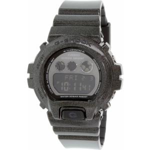 Casio Women's G-Shock GMDS6900SM-1 Black Resin Quartz Watch