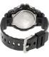 Casio Women's G-Shock GMDS6900SM-1 Black Resin Quartz Watch - Back Image Swatch